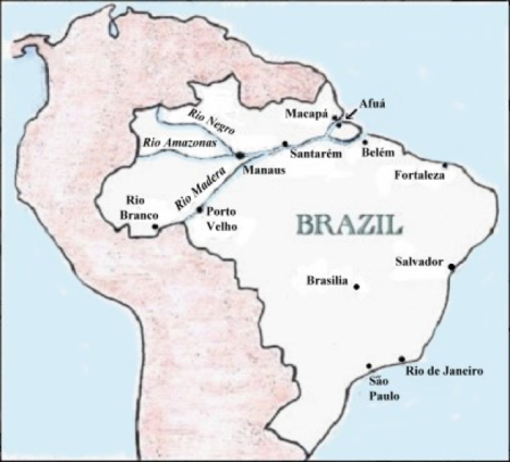 Map of Visited Cities in Brazil.png